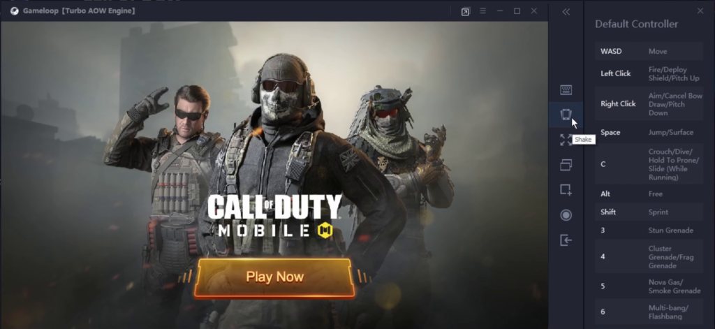 Install Call of Duty Mobile for PC using Gameloop